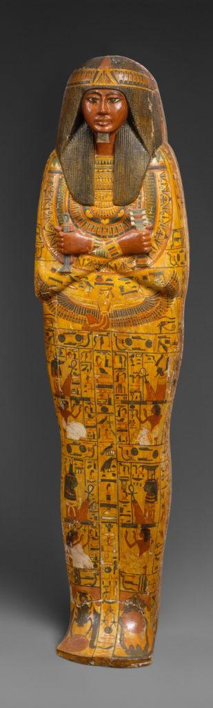 Inner coffin of Khonsu