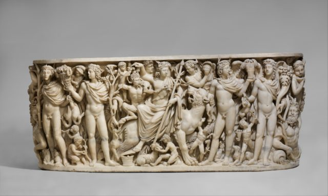 sarcophagus with the triumph of dionysus Marble sarcophagus with the triumph of dionysos and the seasons 4 pages 1118 words november 2014 saved essays save your essays here so you can.