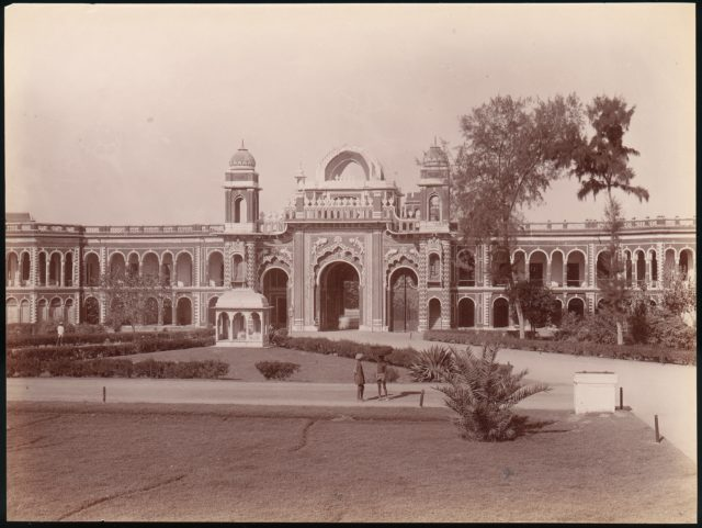 [Mermaid Gateway, Kaiser Bagh, Lucknow, India]