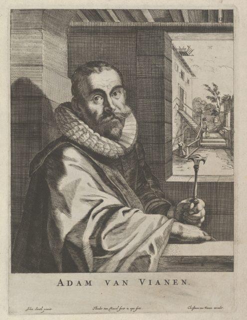 Modelli Artificiosi (...) Parte seconda (Plate 18: Portrait of Adam van Vianen)