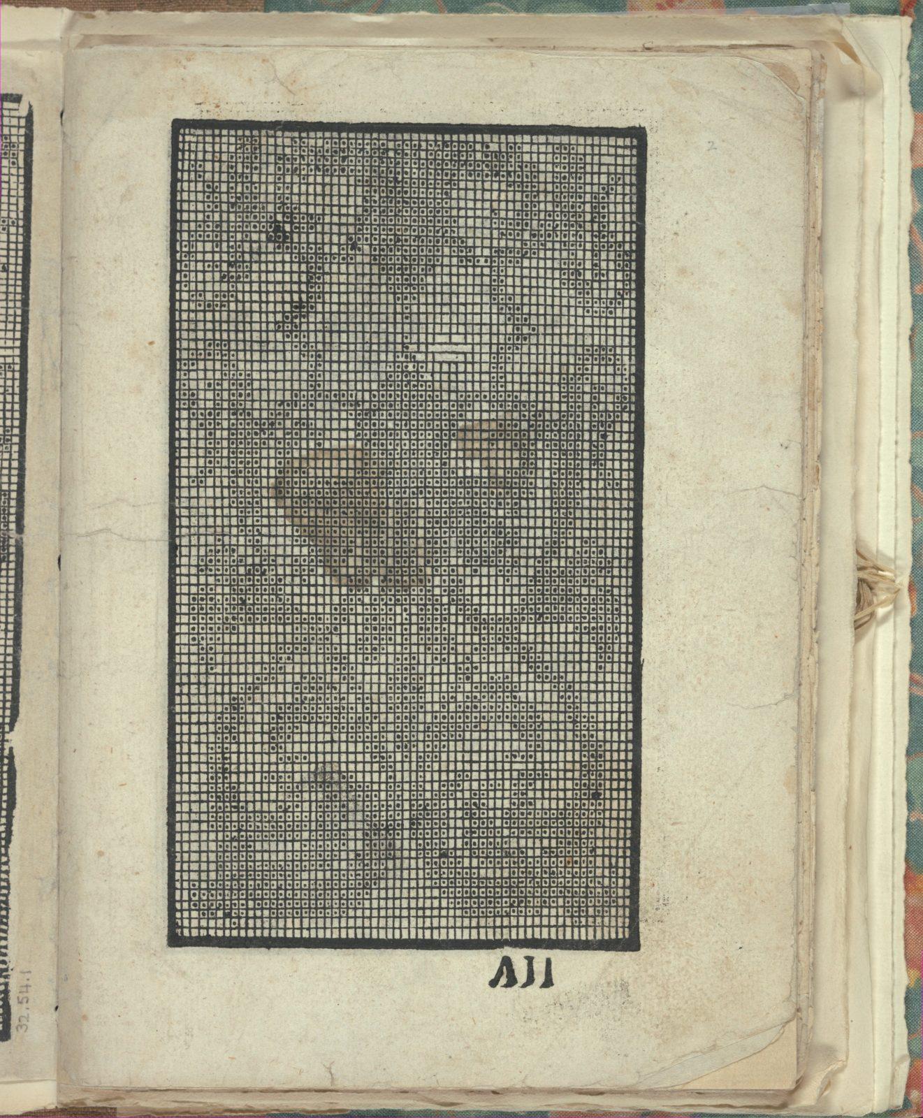 Opera Nova Universali intitulata Corona di racammi, page 2 (recto)