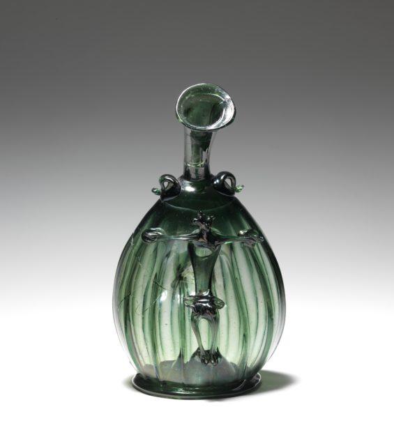 Pilgrim Flask with the Corpus Christi