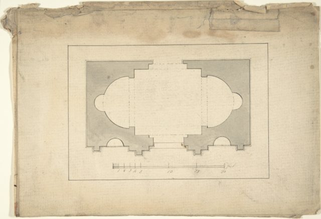 Plan for Garden Pavilion