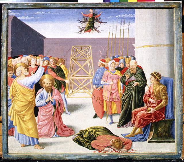 Saint Peter and Simon Magus