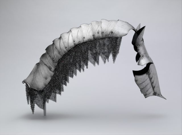 Shaffron and Crinet (Horse's Head and Neck Defenses)