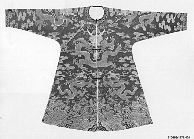 Short Four-Clawed Dragon Robe
