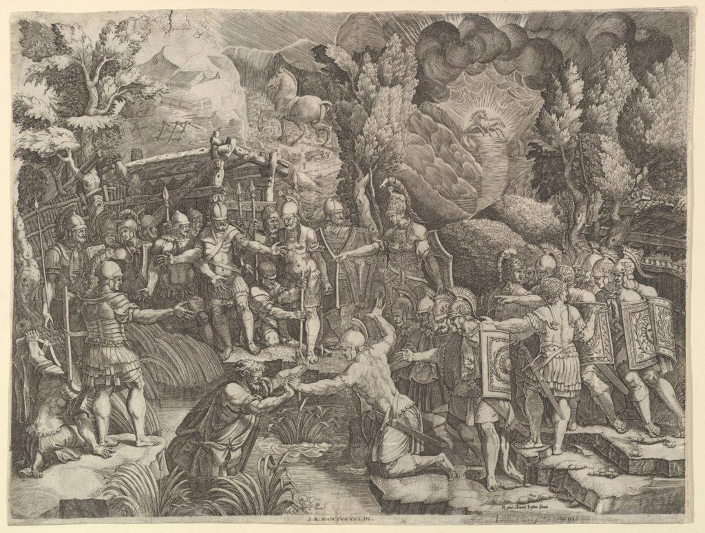 Sinon Deceiving the Trojans