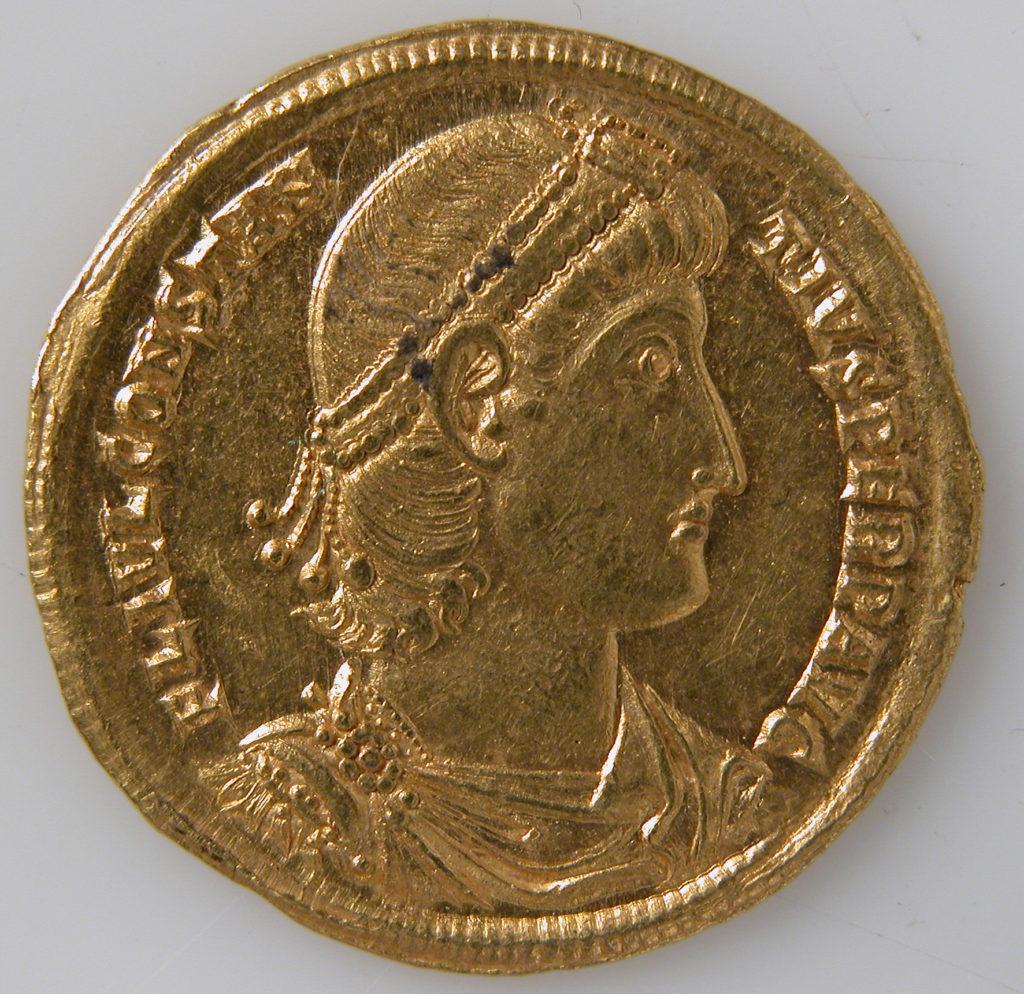 Solidus of Constantius II (337–361)