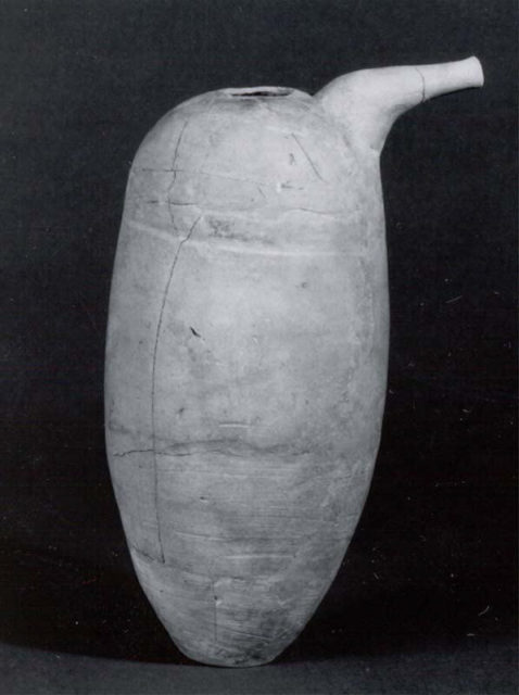 Spouted jar