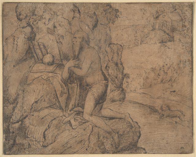 St. Jerome in a Landscape