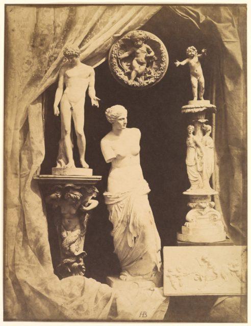 [Still Life with Statuary]