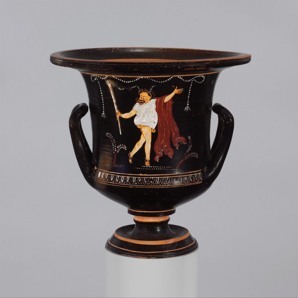 Terracotta calyx-krater (mixing bowl)