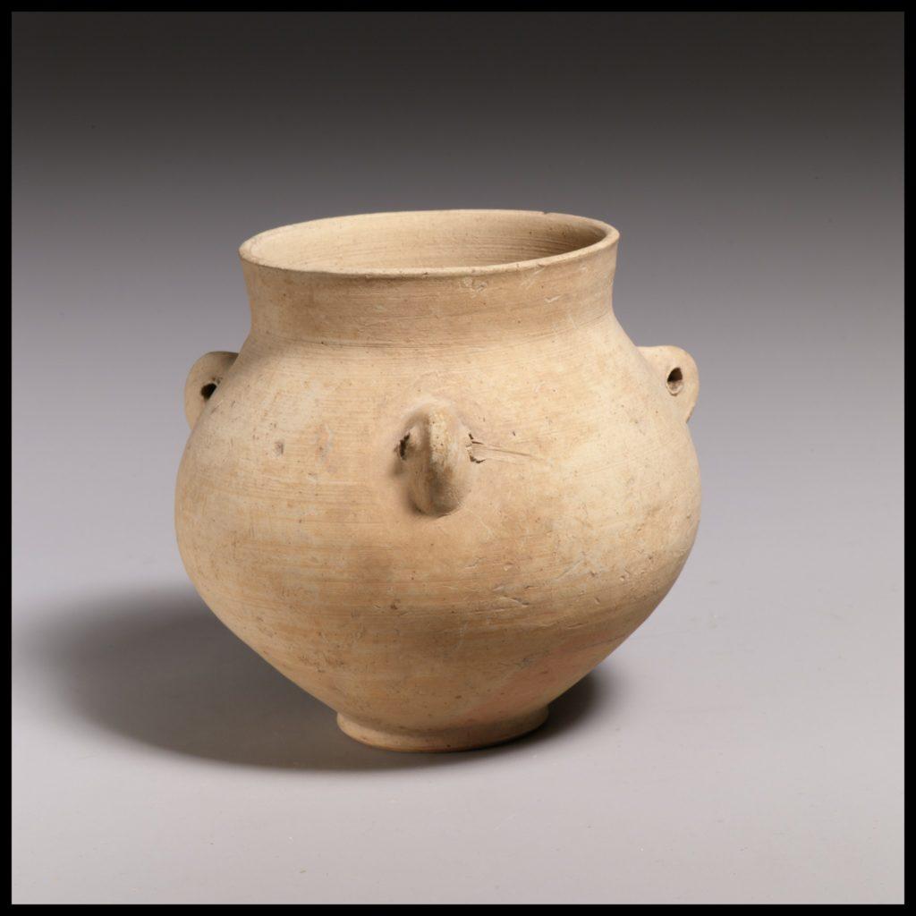 Terracotta collar-necked jar