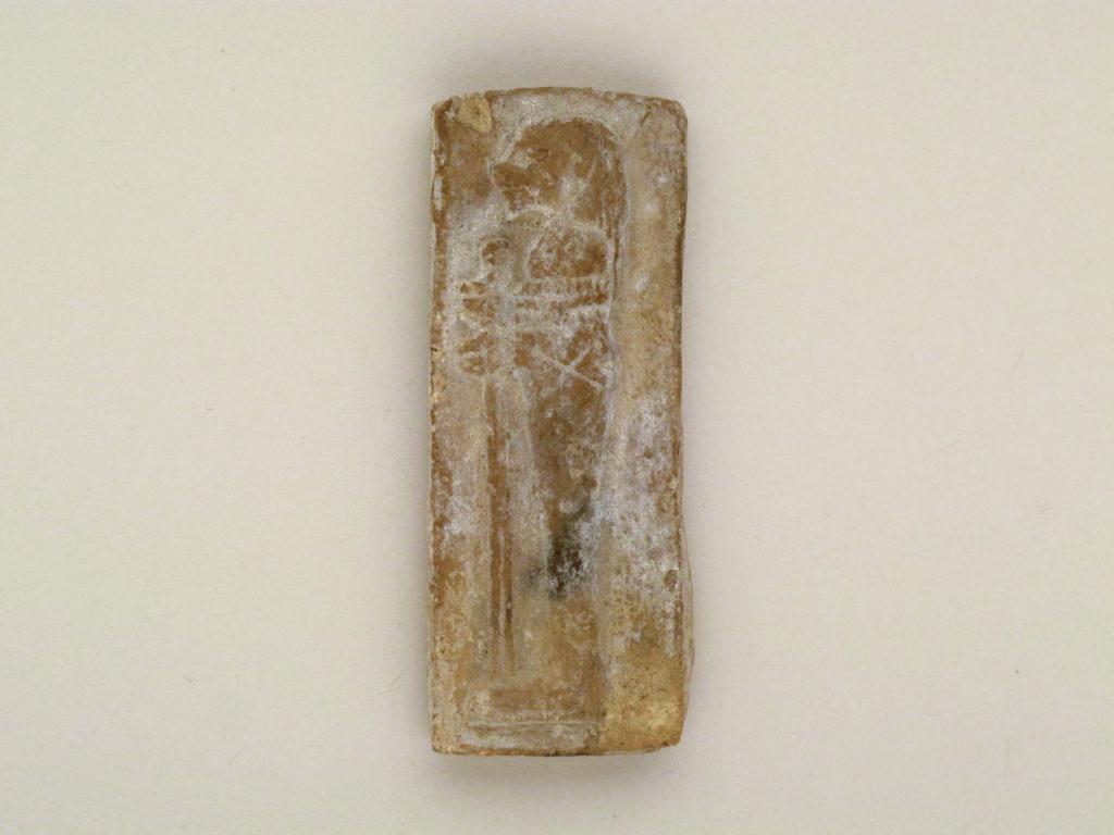 Terracotta foil mold of the son of Horus