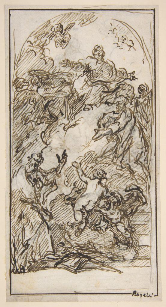 The Apotheosis of Saint Mark (recto and verso)