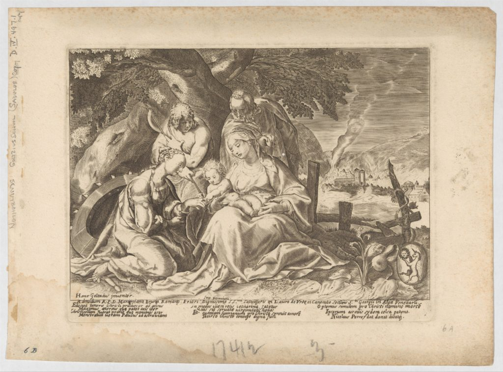The Betrothal of Saint Catherine