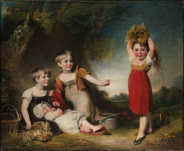The Grandchildren of Sir William Heathcote, 3rd Baronet