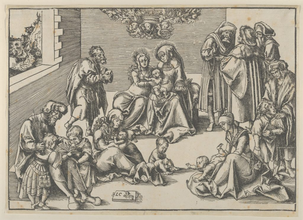 The Holy Family and Kindred