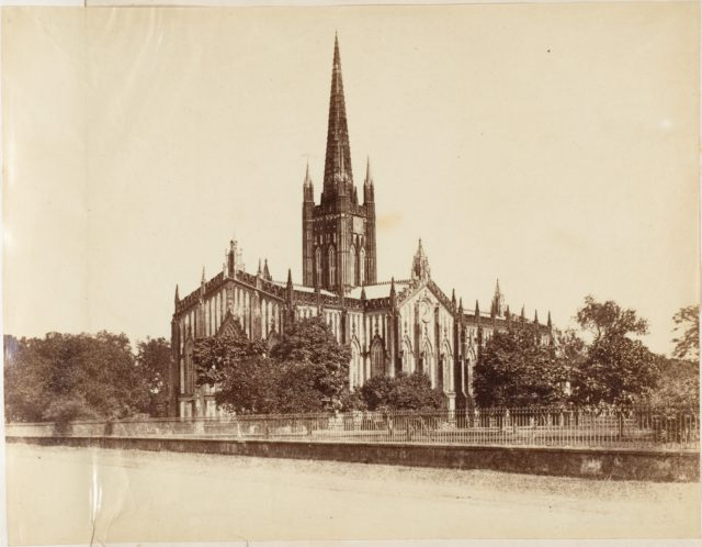 [The St. Pauls Cathedral, Calcutta]