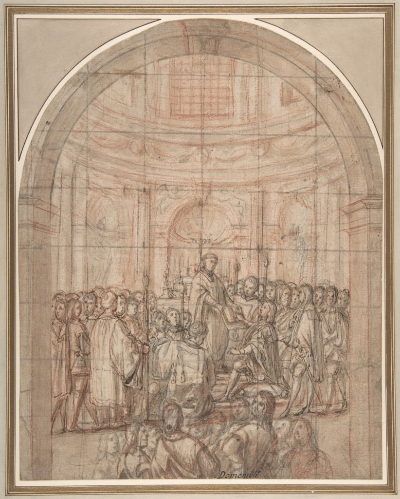 The Swearing In of a Knight of the Tuscan Order of Saint Stephen (or Malta)