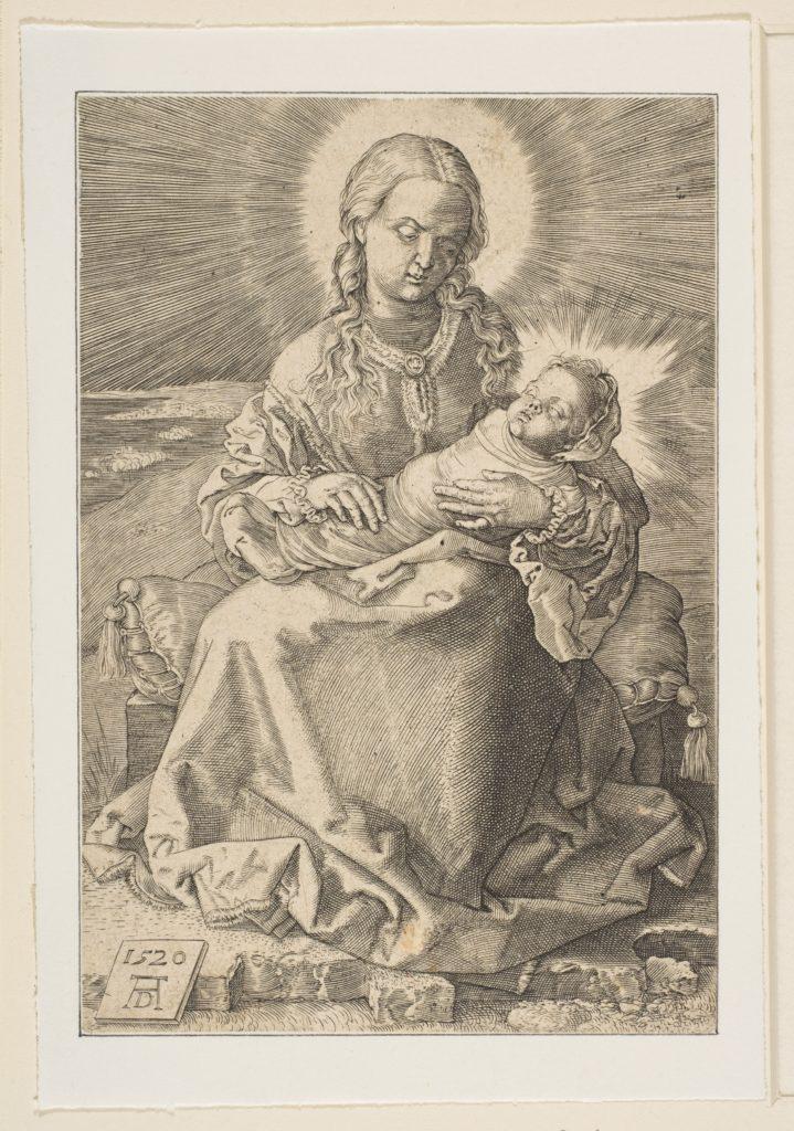 The Virgin with the Swaddled Child (copy)