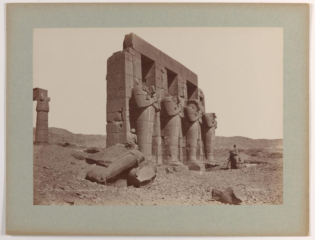 Thèbes, Temple de Ramasseum, Colosses brisés