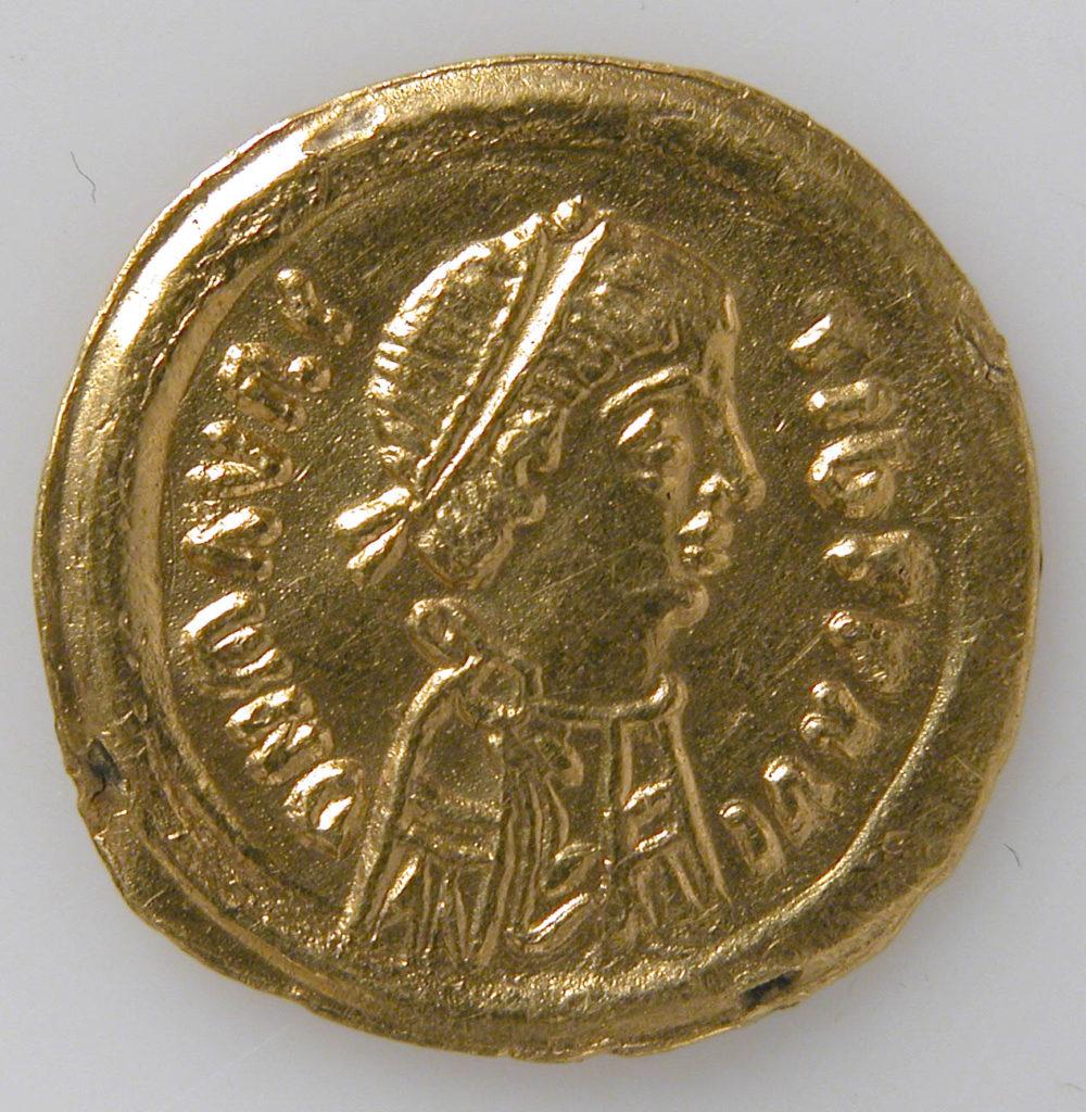 Tremissis of Mauricius Tiberius