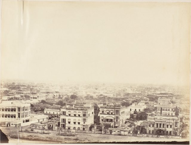 [View of the City from the Ochterlony Monument, Calcutta]