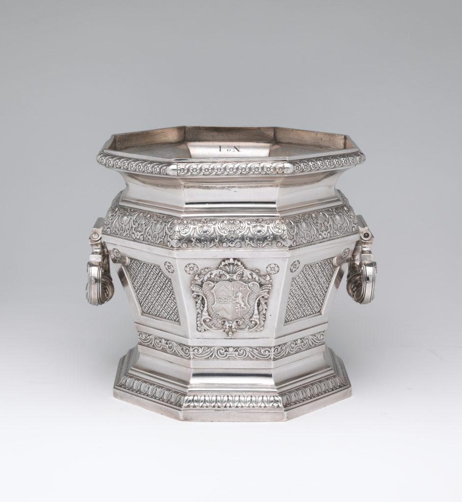 Wine cooler (one of a pair)