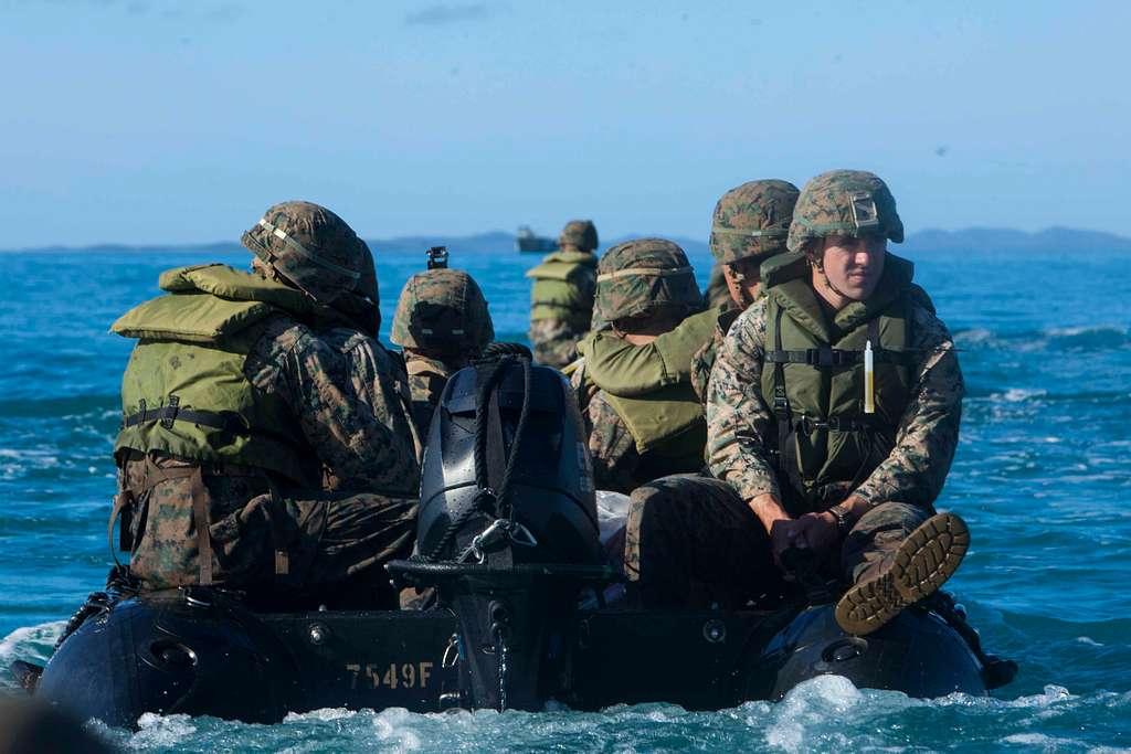 Marines with Lima Company, Battalion Landing Team,