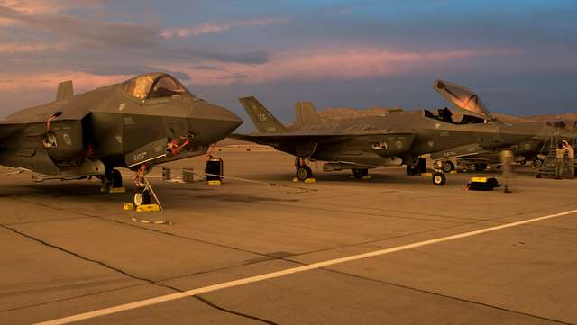 "Lockheed Martin F-35A ""Lightning II's"""