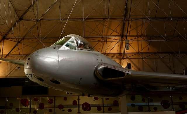 De Havilland DH100 Vampire.