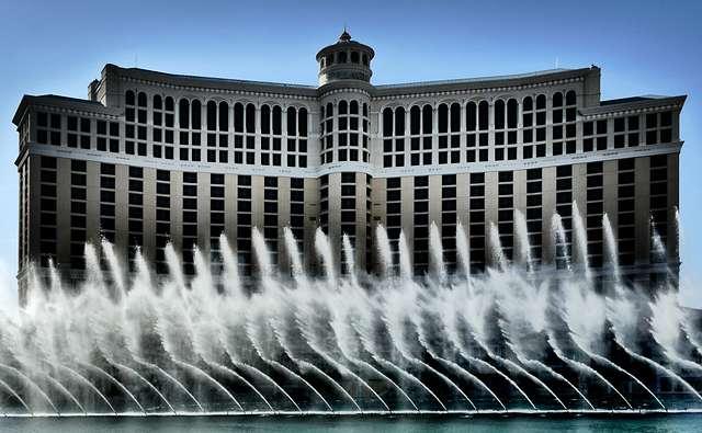 Las Vegas abstract.