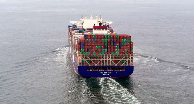 CMA CGM TAGE.Container ship.
