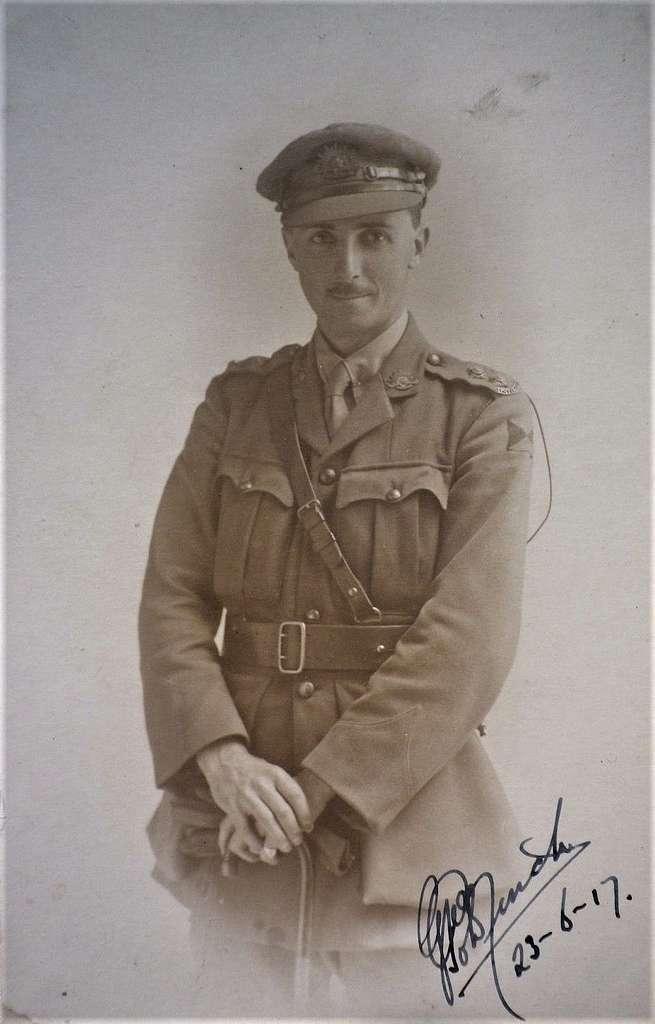Gilbert Macarthur Goldfinch  #4388 - 23 June 1917