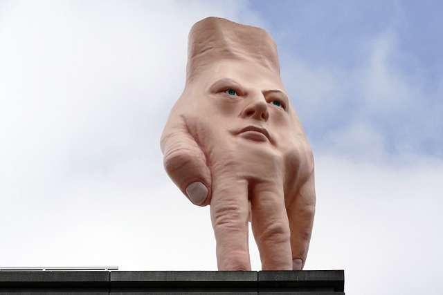 Quasi - Hand Sculpture.