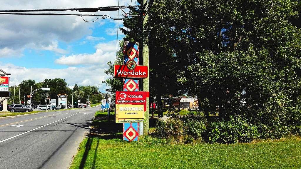 Wendake Entrée Quebec