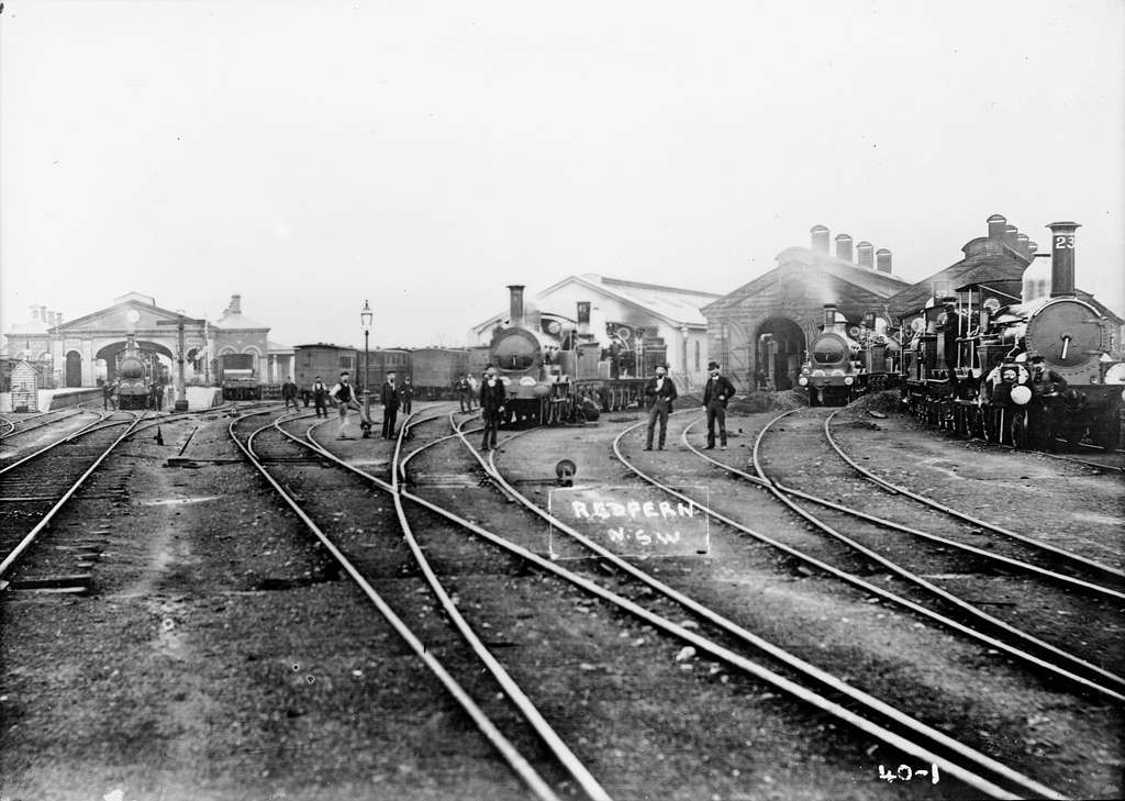 Redfern Station, NSW, 1900