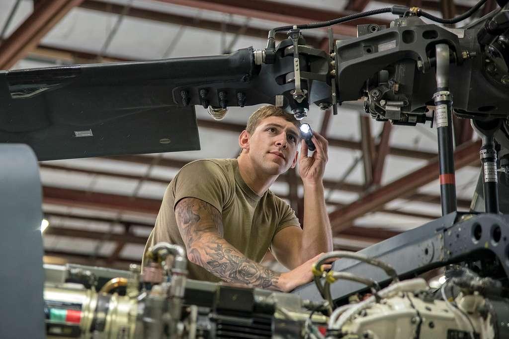 Senior Airman Joshua Herron, 723d Aircraft Maintenance