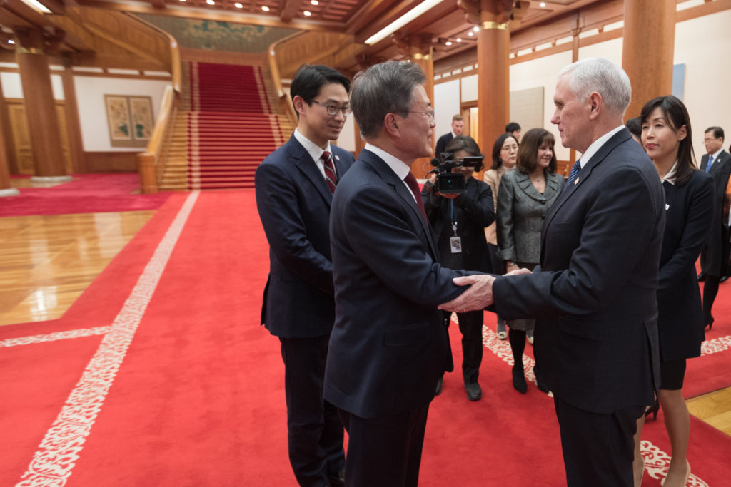 Vice President Pence's Trip to Asia