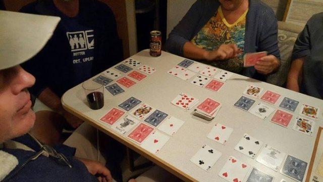 Day 2 aahs_fl0003  Card Game at Las Vegas N.Mex.