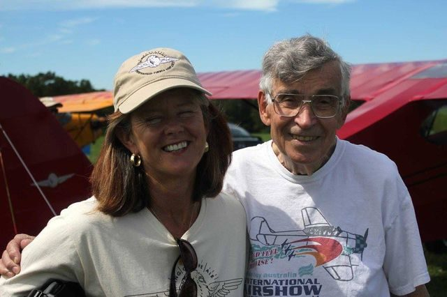 Day 4 Jerri B. and Bob Taylor at AAA fLY IN