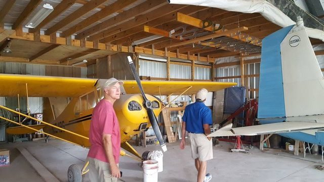Joe Rankin's Hangar with Mike Polley and Bob Cable