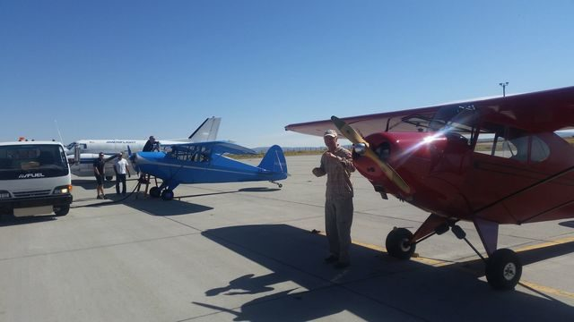 Re Fueling at Cedar City UT.