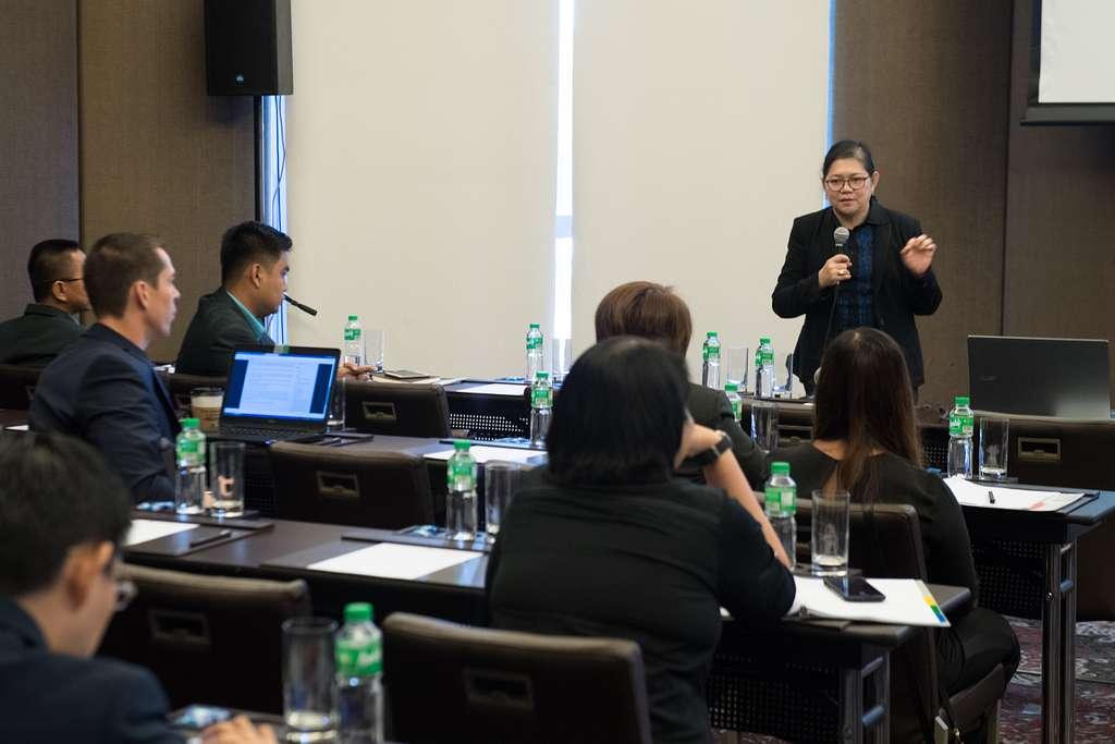 Dr. Irma Makalinao, Regional Forum (ARF) facilitator,