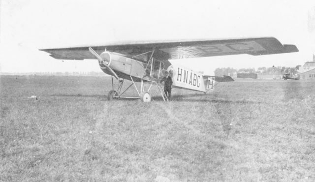 Fokker F.II H-NABC