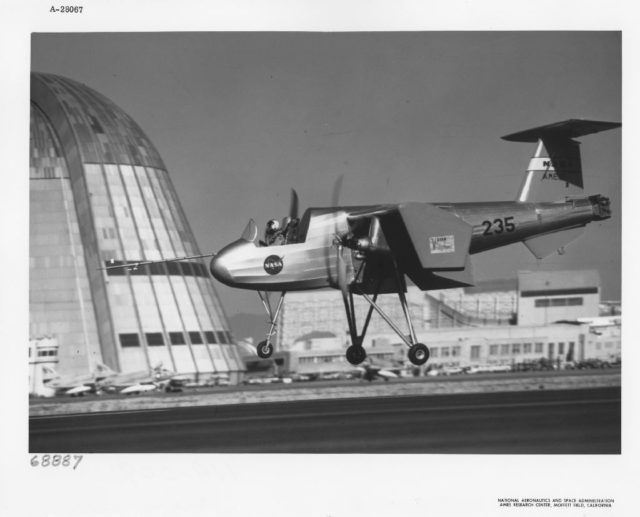 04-02055 Ryan VZ-3RY Vertiplane C. 1958