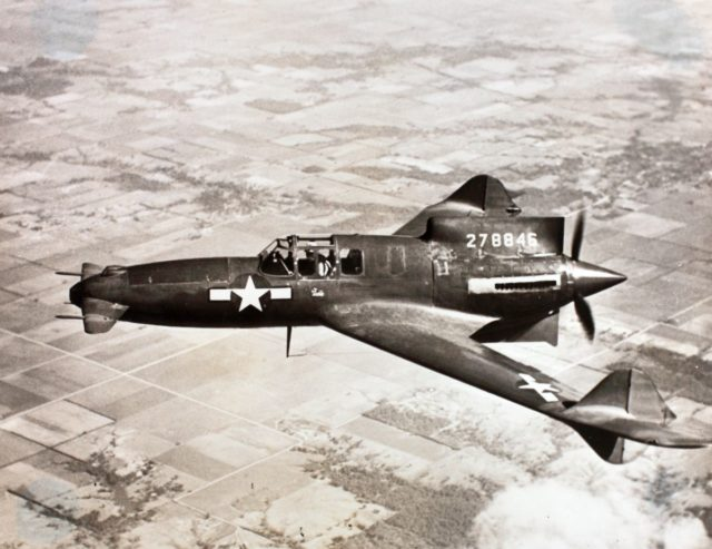 15 Daniels Album Curtiss XP-55