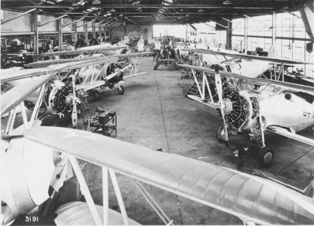 Grumman F2F-1 overhaul Farmingdale plant mfr 3191 [GHS via RJF]