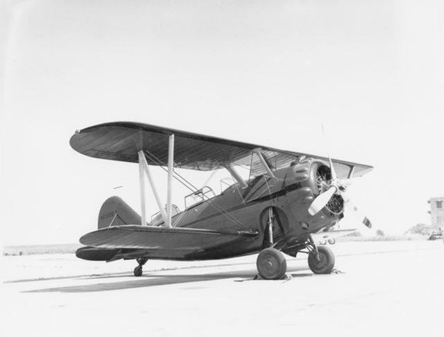 Grumman G-32A NC1326 Floyd Bennett Field 8Feb38 [GHC via RJF]